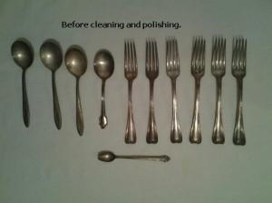 silver plate silverware
